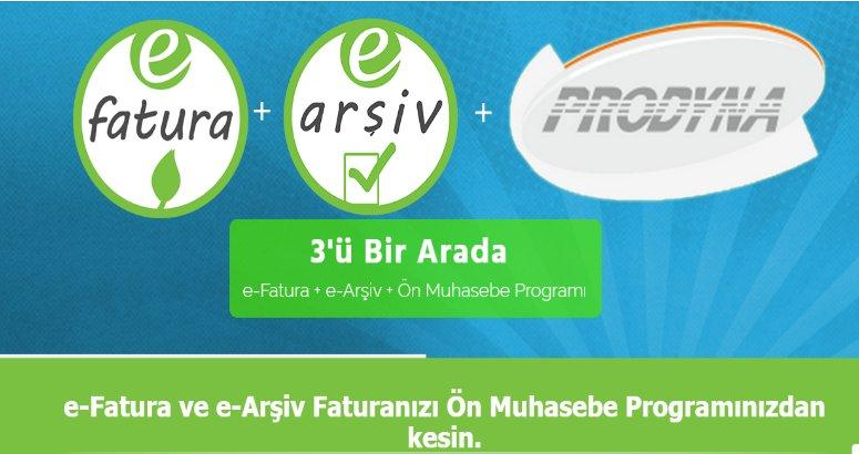 En Kolay e-Fatura ve E-arşiv Fatura Programı